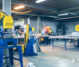 Fabrica Temko sectia grile ventilatie 1