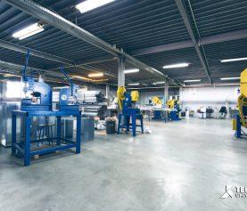 Fabrica Temko sectia grile ventilatie 2